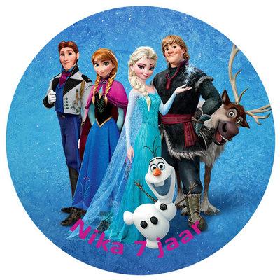 Frozen taart disc