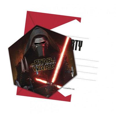 Star Wars TFA uitnodigingen