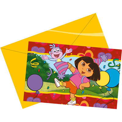 Dora uitnodigingen