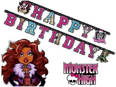 Monster High letterslinger