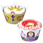Prinses cake wrappers