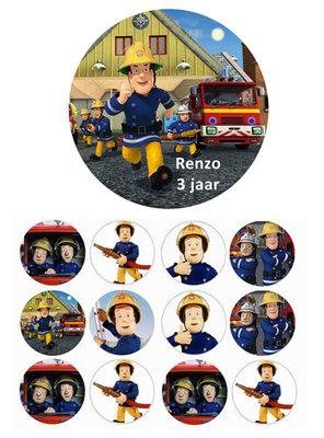 Brandweerman Sam combisheet