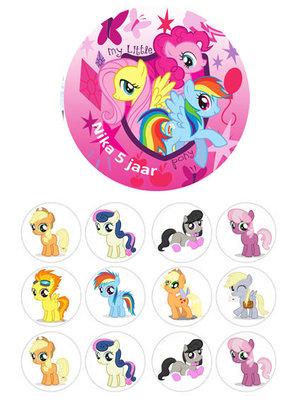 My Little Pony combisheet