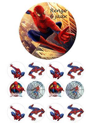 Spiderman combisheet
