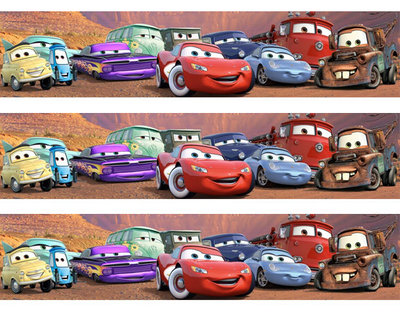 Cars taartrand