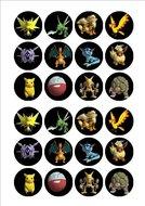 Pokemon cake toppers