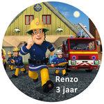Brandweerman Sam taart disc