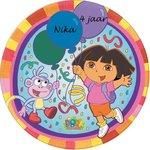 Dora taart disc