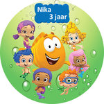 Bubble Guppies taart disc