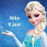 Frozen Elsa taart plaat vierkant