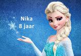 Frozen Elsa taart plaatA4