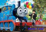 Thomas de Trein taart plaat A4