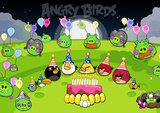 Angry Birds taartplaat A4