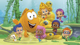 Bubble Guppies taart plaat A4