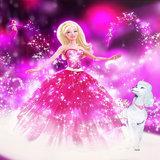 Barbie taart plaat vierkant