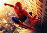 Spiderman taart plaat A4