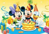 Disney taart plaat A4
