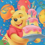 Winnie the Pooh taart plaat vierkant
