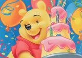 Winnie the Pooh taart plaat A4