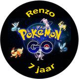 Pokemon Go taart disc