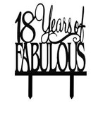 Taarttopper 18 years of fabulous