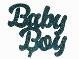Taarttopper karton Baby Boy
