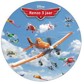 Planes taart disc