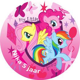 My Little Pony taart disc