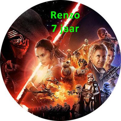 Star Wars taart disc
