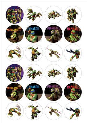 Teenage Mutant Ninja Turtles cake toppers