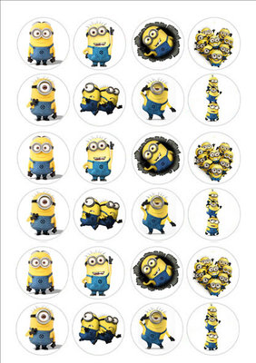 Minions cake toppers