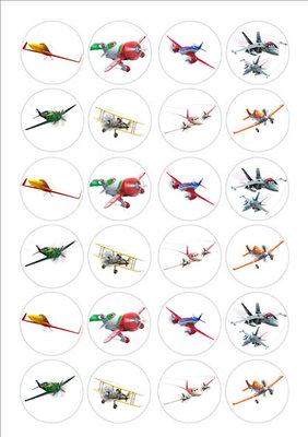 Planes cake toppers