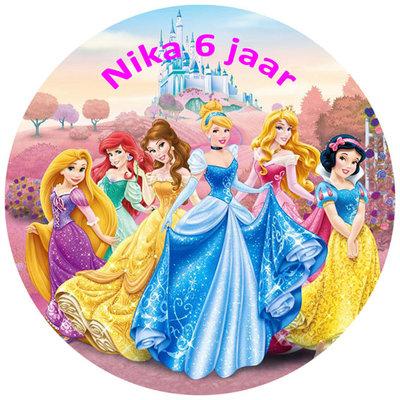 Princess taart disc