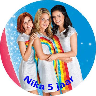 K3 taart disc