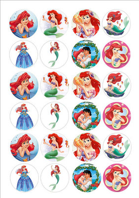 Ariel cake toppers