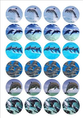 Dolfijnen cake toppers