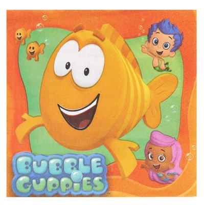 Bubble Guppies servetten