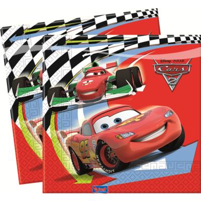 Cars servetten