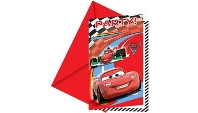 Cars uitnodigingen