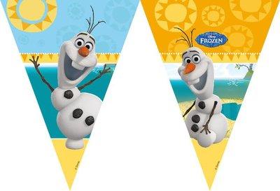 Frozen vlaggenlijn Olaf