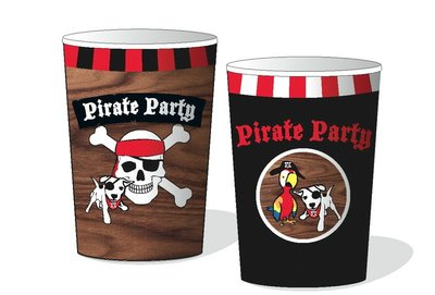 Piraten bekers