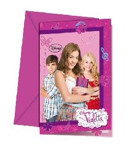 Violetta uitnodigingen