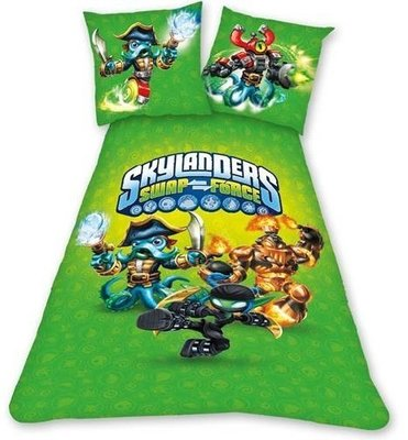 Skylanders Swap Force dekbedovertrek