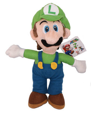 Luigi pluche knuffel