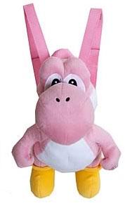 Yoshi knuffelrugzak roze