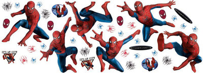 Muurstickers Spiderman