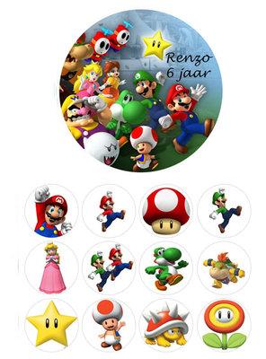 Mario Bros combisheet