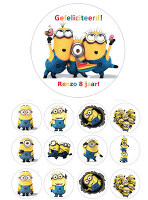 Minions combisheet