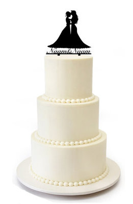 Bruidspaar 2 vrouwen taarttopper