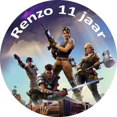 Fortnite taart disc